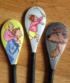 We're Going on a Bear Hunt Story Spoons: story telling