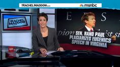 Rand Paul Says If Kentucky Allowed Duels, He'd Challenge Rachel Maddow To A Gunfight (VIDEO) This guy is giving the south a bad name