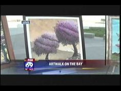 @ArtWalkSD ON THE BAY with Michael Summers and Daniel Ryan KSWB-TV  9-7-11