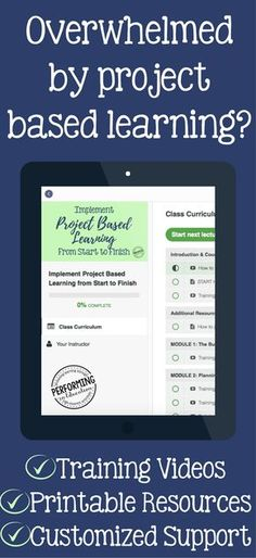 Need help with project based learning? Did your district training leave you with a lot of questions? This comprehensive training includes all the information you need to implement project based learning from planning all the way up to final products! The printable resources included are invaluable for organizing PBL.