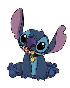 How to draw Stitch!!