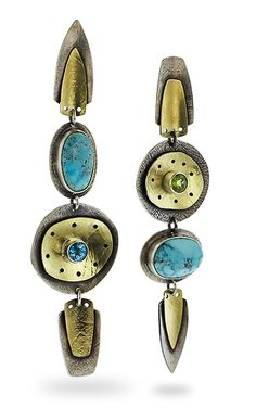 Contemporary Jewellery, Modern Jewelry, Metal Jewelry, Jewelry Art, Silver Jewelry, Jewelry Design, Bridal Jewelry, Artisan Jewelry, Blue Moon