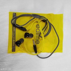 Wired Headphones & Earphones Real Super Bass Earphone Product Name: Real Super Bass Earphone Material: ABS Plastic Product Type: Earphone Type: In The Ear Compatibility: All Mobile Devices Multipack: 1 Color: Yellow Mic: Yes Audio Jack Type: 3.5 mm Cable Length: 150 cm Dust Protected: Yes Sweat Proof: Yes Noise Cancelling: Yes Sizes:  Free Size Country of Origin: India Sizes Available: Free Size   Catalog Rating: ★3.7 (2024)  Catalog Name: Free Gift Dinmex Wired Headphones & Earphones CatalogID_1343112 C97-SC1375 Code: 612-8101781-993