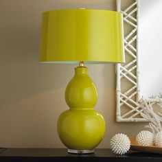 Pop Color Modern Ceramic Table Lamp - 10 colors!