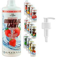 C.P. Sports Mineral Light Getränke Sirup Electrolyte Mineral-Vitamin Konzentrat versch. Sorten inkl. DOSIERSPENDER 1l/1000ml