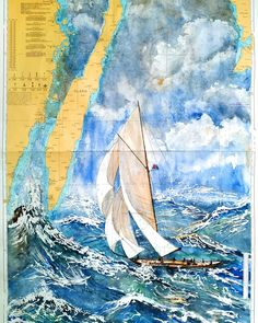 #sailor #watercolor #contemporaryart Dublin, Contemporary Paintings, Les Oeuvres, Sailor, Illustration, Watercolor, Artwork, Watercolor Painting, Sketch