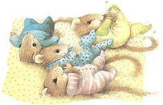 Les petits d'une amie de Vera la souris  -  de Marjolein Bastin
