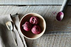 Black Raspberry Ice Cream on Food52