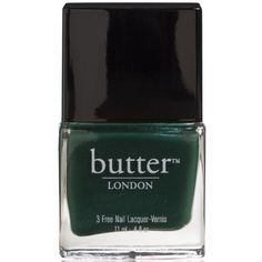 Butter London in British Racing Green