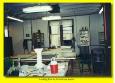 A view of the Studio.