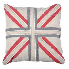 British Flag Pillow now featured on Fab.