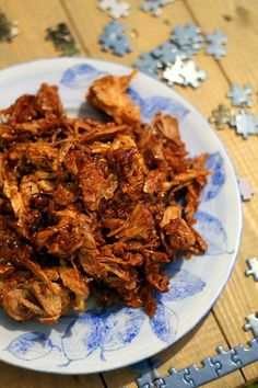 Köökistä kajahtaa: Pulled pork & cola-kastike Fish Recipes, Meat Recipes, Fish And Chicken, Pulled Pork, Coca Cola, Bbq, Dishes, Cooking, Food