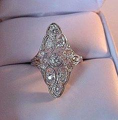 Antique Filigree ring