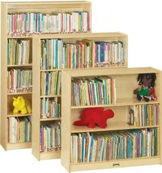 Jonti-Craft Natural 5 Shelf Plywood Bookcase for preschool room at discount prices! Purchase your toddler book displays and book storage furniture from Worthington Direct. Plywood Bookcase, Tall Bookshelves, Wooden Bookcase, Kids Bookcase, Classroom Furniture, Kids Furniture, Preschool Furniture, Library Furniture, Furniture Outlet