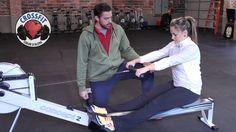 Rowing Tips: fixing early body swing!