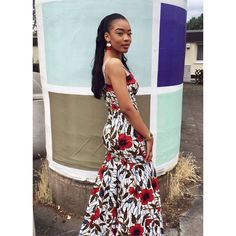 """- 🌹 (@blessyas_) auf Instagram: """"God is too good to Me 💅🏽💕😭 Slayyyy💯✨"""". #Prom2k17 #blackbeauty #African #tall #model"""