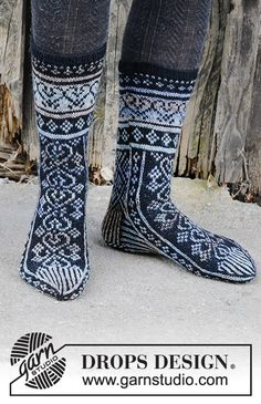 Free knitting patterns and crochet patterns by DROPS Design Knitting Charts, Knitting Stitches, Knitting Socks, Knitting Patterns Free, Free Knitting, Baby Knitting, Free Pattern, Crochet Patterns, Knit Socks