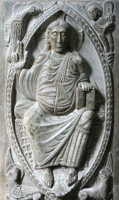 Cristo en Majestad, Toulouse, Francia (Romanico)
