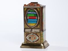 chocolate dispenser and money bank