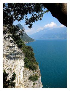 Garda lake in Italy
