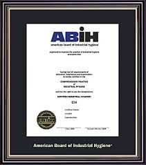 public information video from the american board of industrial hygiene abih about what a certified industrial hygienist cih is - Certified Industrial Hygienist Resume