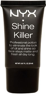 Nyx Cosmetics Shine Killer!! This product is amazing... Especially when you have combination/oily skin.