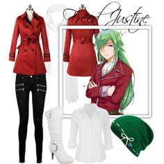 Freed Justine [Fairy Tail] by lexivita on Polyvore