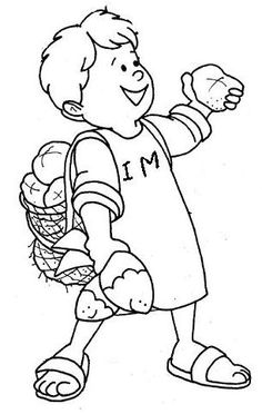 Bible Coloring Book Pages