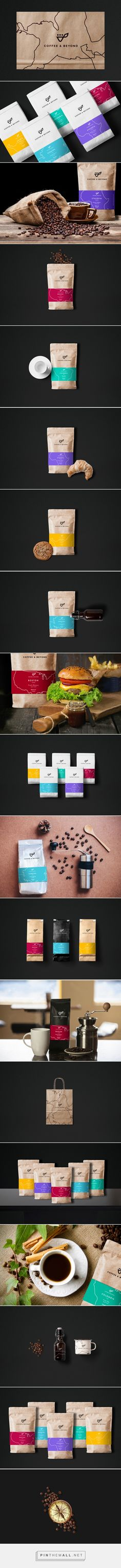 Coffee & Beyond packaging on Behance... - a grouped images picture - Pin Them All