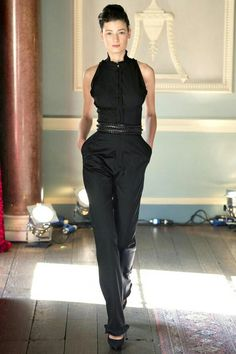 Formal Black Jumpsuit