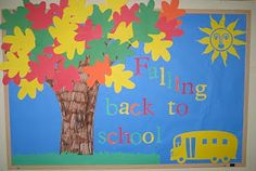 1 - 2 - 3 Learn Curriculum: New September Bulletin Board Idea