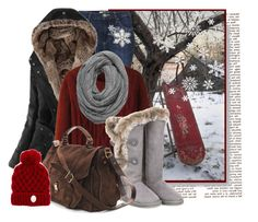 """""""Let it's snow..."""" by doradabrowska ❤ liked on Polyvore featuring Topshop, Uniqlo, Australia Luxe Collective and Proenza Schouler"""