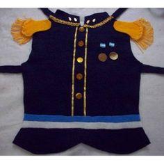 Disfraz San Martin Pechera Pañolenci Niños 5 A 8 Años - $ 100,00
