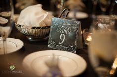 Chalkboard table numbers | Lasting Images Photography | villasiena.cc