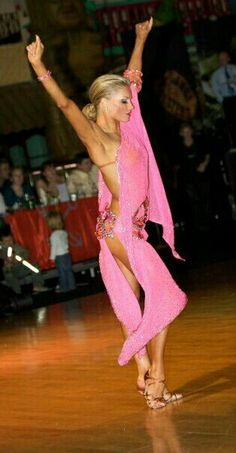 Yulia Zagoruychenko. Latin Professional Dancer. I think she is the Queen of Latin dance ballroom