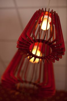 Laser cut lamp shade