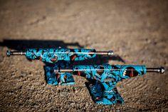 Krux Forged Screaming Hand Blue HI139 Trucks