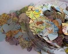 <3 map garland