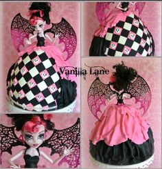 Monster High cake make this for my daughter :)