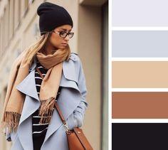 15 актуальных цветовых решений для шарфа и шапки 13