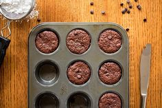 Gluten-Free Brownie Bites from Vegan Chocolate by Fran Costigan