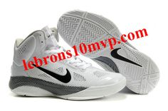 Nike Zoom Hyperfuse XDR 2010 Shoes White/Black Unreleased Sample