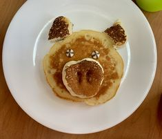 Yummy breakfast idea to go with If You Give a Pig a Pancake Book! Pancakes, Book, Breakfast, Kids, Morning Coffee, Young Children, Boys, Pancake, Children