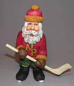 Hockey Santa