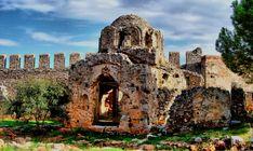 antalya airport to Turkey Vacation Acceda al sitio para obtener información Ancient Greek City, Ancient Ruins, Beautiful Castles, Most Beautiful Cities, Portal, Turkey Vacation, Roman City, Underground Cities, Hagia Sophia