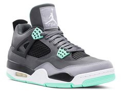 What?! Air Jordan Retro 4's with my fave color mint?!? Yup! Had to get one for each of us in the family! Mom, Dad, baby boy and baby girl are gonna look fly!