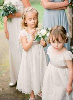 Vintage Inspired Flower Girl Dresses