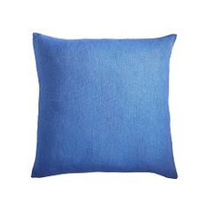 European Flax Linen Pillow Cover - Cobalt - Bedding or Sofa Pillow Covers Bolster Covers, Sofa Pillow Covers, Decorative Pillow Covers, Fall Pillows, Linen Pillows, Sofa Pillows, Cushions, Throw Pillows, Modern Classic Interior
