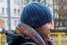 """This is a simple and quick knit using worsted weight yarn (sample in Cascade 220). It is knit bottom up and the finished product is very stretchy, fitting a wide variety of head sizes. The pattern is written using typical abbreviations and is laid out very clearly in round-by-round instructions. The main body is knit on 16"""" circular needles, switching to double pointed needles once you are into the decreases. The gauge is measured in pattern, and should be 4 sts/inch."""