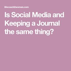 Is Social Media and